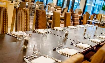 long dining table nottingham belfry